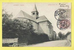 * Lucheux (Dép 08 - Ardennes - France) * (Boulogne Cresson, Edit) L'église, Church, Kirche, Char, Timbre, Old - France