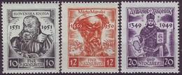 YUGOSLAVIA 668-670,unused - 1945-1992 Socialistische Federale Republiek Joegoslavië