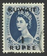 Kuwait, 1 R. On 1 S. 6 P. 1956, Sc # 128, Mi # 118, Used - Kuwait