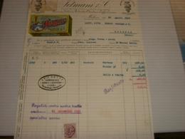 FATTURA SETMANI & C. PREMIATA FABBRICA ESTRATTO OLANDESE E CAFFE' CICORIA 1929 CAFFE' MILANO - Italia