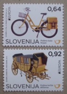 Slowenien    Europa  Cept   Postfahrzeuge     2013 ** - 2013