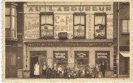 MOUSCRON : Café Du Laboureur - SUPERBE - TRES RARE CPA - Mouscron - Moeskroen