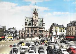 60 COMPIEGEN PLACE DE LHOTEL DE VILLE VOITURES NOMBREUSES  CPM GF - Compiegne