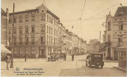 BLANKENBERGHE : Boulevard Smet De Nayer Laan - RARE CPA - Blankenberge