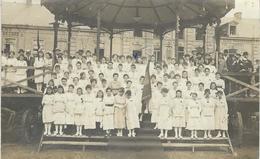 THUIN : TRES RARE CARTE PHOTO - Fête De La Victoire En 1919 - Thuin