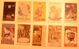 CPA / Lot De 10 Cartes Postales Publicitaires / LESSIVE Lavandières Blanchisseuses - Publicité