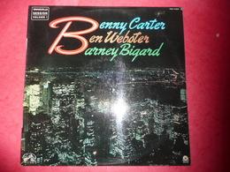 LP33 N°1140 - BENNY CARTER & BEN WEBSTER & BARNEY BIGARD - COMPILATION 4 TITRES - Jazz
