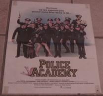 AFFICHE CINEMA ORIGINALE FILM POLICE ACADEMY Hugh WILSON GUTTENBERG CATTRALL Jouineau Bourduge 1984 - Posters