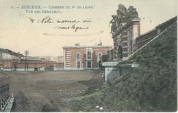6. - BERCHEM : Caserne Du 6ème De Ligne - Vue Des Remparts - TRES RARE VARIANTE - Cachet De La Poste 1919 - Belgique