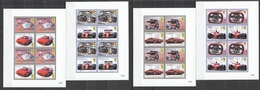 E688 2010 GRENADA RACING FORMULA 1 F1 CARS FERRARI ENGINES HISTORY !!! 4KB MNH - Cars