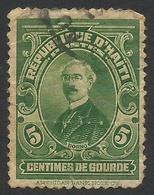 Haiti, 5 C., 1924, Sc # 315, Used. - Haiti