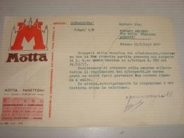 DOCUMENTO UFFICIO CONTABILITA' MOTTA 1938 - Italië