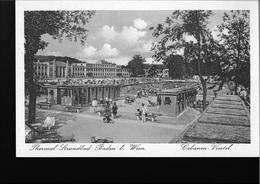 Baden Bei Wien - Thermal Strandbad - Cabanen Viertel - 1926 - Kleinformat - #13# - Baden Bei Wien