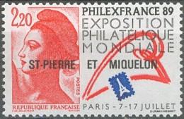 Saint-Pierre Et Miquelon 1986-1999 - N° 489 (YT) N° 498 (AM) Neuf **. - St.Pierre & Miquelon