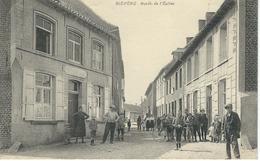 BIEVENE - BEVER : Ruelle De L''Eglise - RARE CPA - Cachet De La Poste 1920 - Biévène - Bever