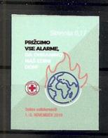SLOVENIA  2019,RED CROSS ADHESIV,SOLIDARITY WEEK,MNH - Slovenia
