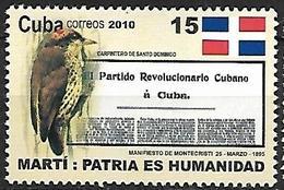 Cuba - MNH 2010 - Man Rights : Historical Document - BIRD :    Antillean Piculet  -  Nesoctites Micromegas - Specht- & Bartvögel