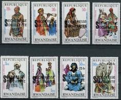 Rwanda Ruanda 1975 OCBn°  690-97 *** MNH Cote 6,50 Euro - 1970-79: Neufs