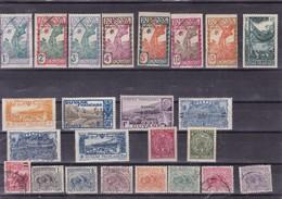 GUYANE :Y&T : Lot De 24 Timbres Oblitérés - Französisch-Guayana (1886-1949)