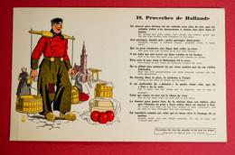 Buvard PROVERBE De HOLLANDE N° 19 - Blotters