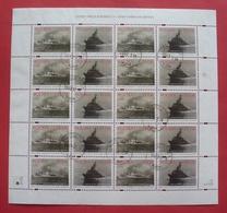 Poland 1999 - Postally Used - Sheet Fi 3594/95 - Ship, Navy - Pologne Polen Polonia - 408 Bl - Blocs & Feuillets