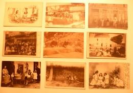 CPA / Lot De 9 Cartes Postales Anciennes Lessive LAVANDIERES Blanchisseuses /e - Farmers