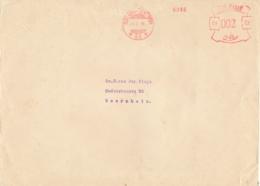 Nederlands Indië - 1938 - 2 Cent Roodfrankering Machine 63 Op Grotere Cover Van Batavia Naar Soerabaja - Indes Néerlandaises