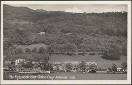 The Esplanade And Jenkin Crag, Ambleside, Westmorland, C.1950s - Sanderson & Dixon RP Postcard - Cumberland/ Westmorland