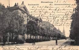 STRASSBURG~BEZIRKSARCHIV SCHWARZWALDSTRASSE~1905 PHOTO POSTCARD 43163 - Deutschland
