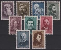 HC 66 - ROUMANIE N° 1681/89 Neuf** Célébrités - 1948-.... Repúblicas
