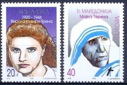 MK 1996-74-5 CEPT EUROPA, NORTH MAKEDONIA, 1 X 2v. MNH - Macédoine
