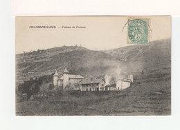 Chamborigaud. Château De Crouzas.( 3520) - Chamborigaud