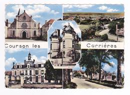89 Courson Les Carrières N°30 En 1964 En 5 Vues VOIR DOS édit Artistic Paris - Courson-les-Carrières