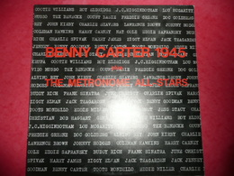 LP33 N°1144 - BENNY CARTER - THE METRONOME ALL-STARS - 1945 - COMPILATION 16 TITRES - Jazz