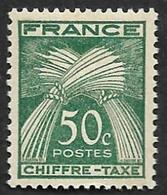 TAXE  N° 69 -  Chiffre-taxe Gerbes  50c -  NEUF** - Segnatasse