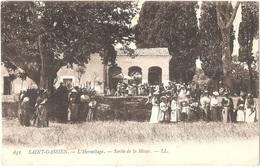 Dépt 06 - CANNES - Saint-Cassien - L'Hermitage - Sortie De La Messe - (LL N° 651) - Saint-Gassien - Cannes