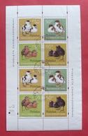 Poland 1997 - Postally Used - Sheet Fi 3538/41 - Birds Bird - Pologne Polen Polonia --- 413 Bl - Blocs & Feuillets