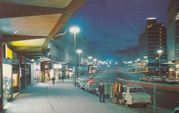 BIRMINGHAM, England, UK, 1970 ; Smallbrook Ringway By Night - Birmingham