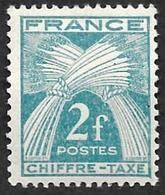 TAXE  N°  72 -  Chiffre-Taxe Gerbes  2f - NEUF** - 1859-1955 Neufs