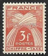 TAXE  N°  73 -  Chiffre-Taxe Gerbes  3f - NEUF** - 1859-1955 Neufs