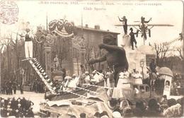 Dépt 13 - AIX-EN-PROVENCE - Carnaval XXXX - Corso Carnavalesque - CLUB SPORTS - (automobile, Avion, Etc.) - Aix En Provence
