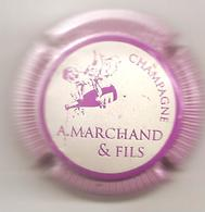 Capsule  MARCHAND  A. Et Fils  N° 4 - Champagne