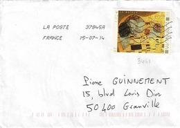 TP N° 3461 Seul  Sur Enveloppe De Buellas - 1961-....