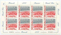 RC 15220 MONACO FEUILLE GRAND PRIX DE FORMULE 3000 FACIALE = 24FRS = 3,65€ NEUF ** MNH TB - Monaco