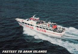 Aran Islands Ferry , Ireland , 60-80s - Galway