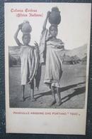 Erythrée   Cpa Colonie Eritrea Abissine Africa Italiana - Erythrée