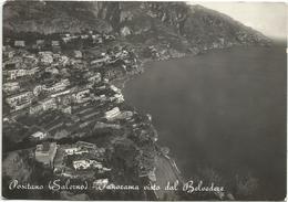 Y5212 Positano (Salerno) - Panorama Visto Dal Belvedere / Viaggiata 1956 - Italia