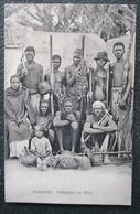 Angola Benguella Indigenas Do Bihé  Cpa Timbrée Voyagée 1914 - Angola