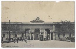 CPA Italie Italia Roma Rome Lazio Molto Rara Rare Il Mattatoio Tramway Tram Les Abbatoirs Carte Rare, Petit Manque 1920. - Autres