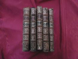 Livre - Rabelais - 5 Tomes - Gargantua Pantagruel - 1725 - Boeken, Tijdschriften, Stripverhalen